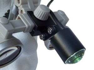 ErgonoptiX Comfort Medical HeadLight - D-Light micro - Frames - connection for ErgonoptiX Galilean type loupes