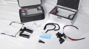 ergonoptix-accessories-for-surgical-loupes Basic set