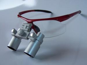 ErgonoptiX Comfort micro Prismatic loupes - magnification 4x