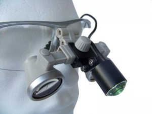 ErgonoptiX Comfort dental surgical medical loupes - medical Headlights