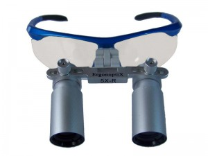 ErgonoptiX Comfort Prismatic loupes - magnification 5x and 6X