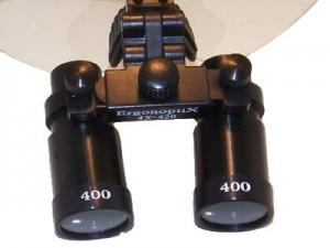 ErgonoptiX Comfort medical loupes - micro Prismatic - black